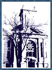 Old Drawing of St. Mary Exterior