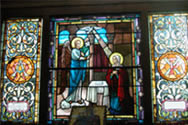 Stained Glass in Narthex